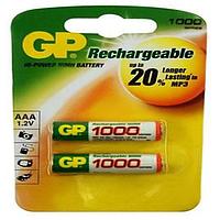 Аккумулятор Ni-MH, GP AAA R3 1000mAh (100AAАHC-U2) 1.2V