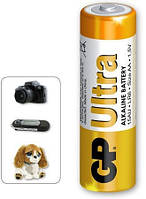 Батарейки GP 15AU-S2 Ultra Alkaline AA (LR6)