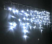 Гирлянда светодиодная Бахрома 108 LED 3x0.75 м (белая), фото 1