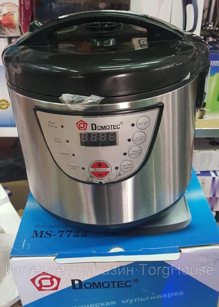 Мультиварка Domotec MS-7722 5 л, 9 программ (1000W)