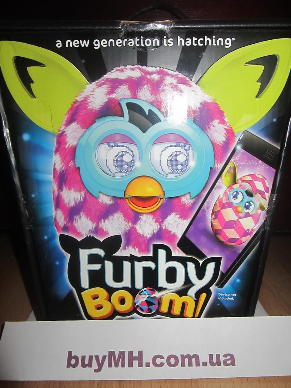 Ферби Бум розовые кубики (Furby Boom Pink Cubes), фото 1