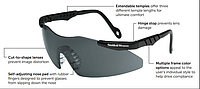Очки защитные Smith & Wesson Magnum 3G Smoke Safety glasses Anti-Fog Lens Тонированное антизапотевающее стекло