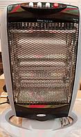 Тепловентилятор (обогреватель) инфракрасный галогенный WimpeX WX-455 1200W, фото 1