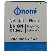 Оригинальный аккумулятор Nomi i503 Jump (2000mAh) NB-56 (батарея, АКБ)
