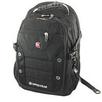 Рюкзак городской SWISS BAG 1535 + дождевик, туристический SWISSGEAR, ортопедический