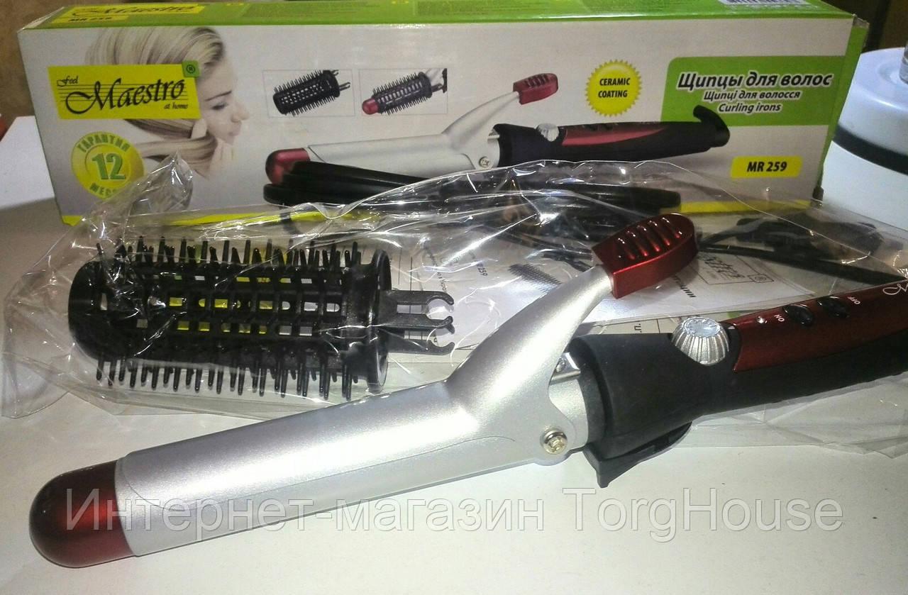 Щипцы для волос Maestro MR-259