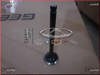 Клапан выпускной, шт., 479Q, 481Q, Geely MK1 [1.6, до 2010г.], E010000601, Aftermarket