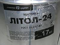 Смазка Литол-24 гост Экстра КСМ-ПРОТЕК ведро 17кг Смазка