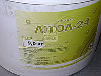 Смазка Литол-24 гост Экстра КСМ-ПРОТЕК ведро 9кг Смазка