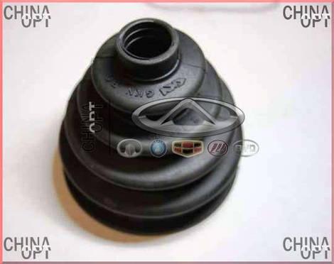 Пыльник наружный ШРУСа, +смазка, +хомуты, Chery M12 [HB], A21-XLB3AF2203111C, Loebro