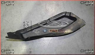 Брызговик заднего бампера левый, Chery Amulet [1.6,до 2010г.], A11-3102031, Original parts
