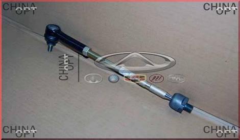 Тяга рулевая левая / правая + наконечник, в сборе, Chery M11, M11-3401300, Original parts