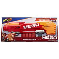 Бластер Nerf N-Strike Mega TwinShock, Hasbro, фото 1