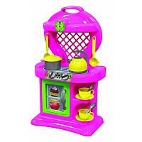 Детская игровая кухня с посудкой