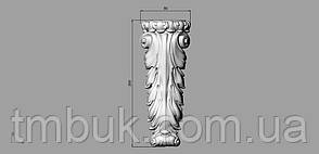 Кронштейн деревянный 17 - 80х200 мм, фото 2