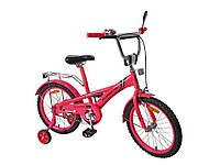 Велосипед 2х коліс 18 , д зеркалом, руч.тормоз 171830 ТМDreamtoys