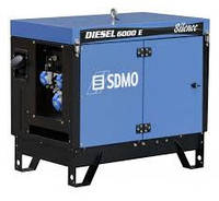 Дизельный генератор SDMO Diesel 6000 E Silence (5,2 кВт)