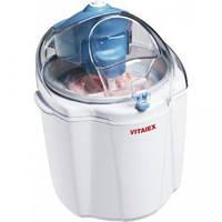 Мороженица Vitalex VT-5901, аппарат для приготовления мороженого, автоматическая мороженица