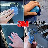 180 грам Clay Bar 3 М 3М 3m синя глина блакитна абразивна для полірування кузова автомобіля, фото 8