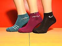 Носки женские демисезонные спорт укороченные Classic размер 23-25(36-41) ассорти