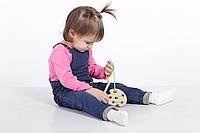 Деревянная игрушка Шнуровка Гриб, фото 1