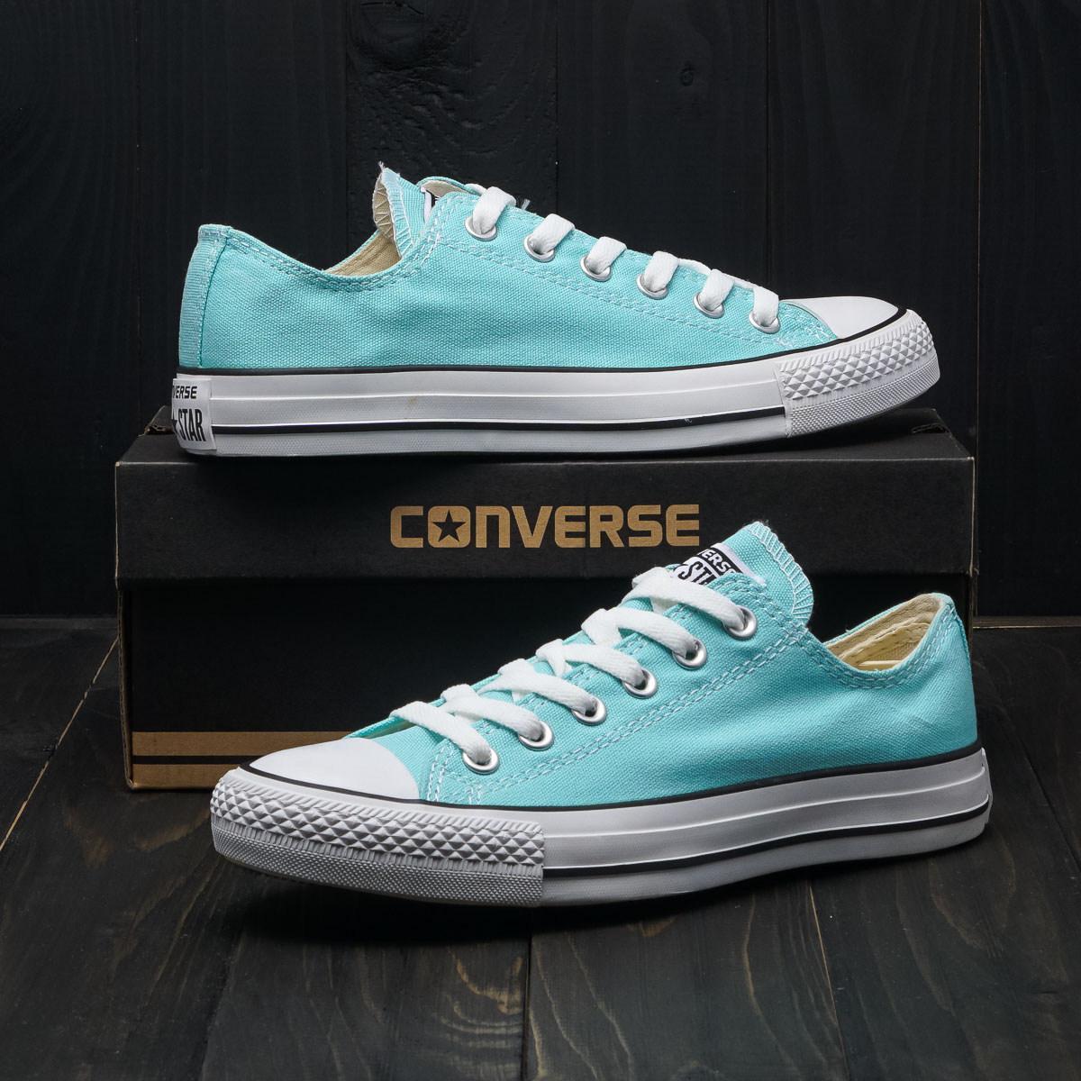 Кеды Converse All Star Tiffany Blue (низкие)