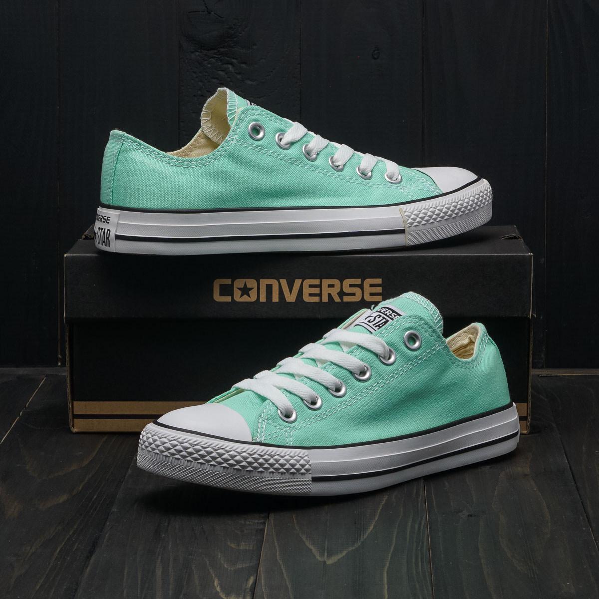 Кеды Converse All Star Mint (мятные низкие)  продажа, цена в ... fb81f11762c