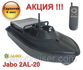 """Кораблик для прикормки JABO-2AL-20А -УЦЕНКА!!! с """"Турбо режимом"""" - функцией ускорения, с АКБ 20А/Ч"""