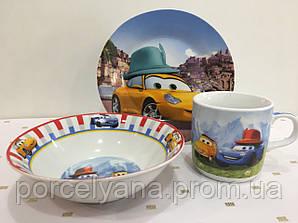 Набор детской посуды Disney Cars 3 пр