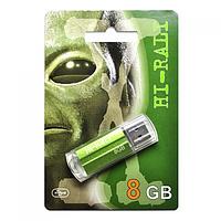 Флешка usb flash Hi-Rali 8GB Corsair series Green