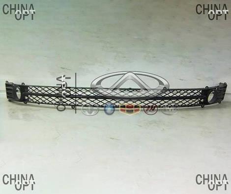 Решетка бампера центральная, Chery Elara [до 2011г, 1.5], A21-2803651, Aftermarket