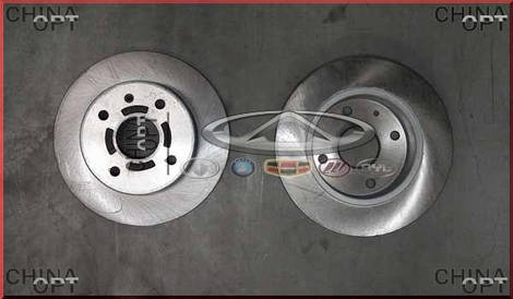 Диск тормозной задний, Chery Eastar [B11,2.4, AT], B11-3502075, OEM