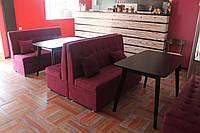 Розовые диваны для кафе (4 единицы), фото 1