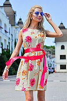 Платье женское летнее Турция основа лён