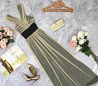 Воздушное платье из фатина, в греческом стиле  DR1816247