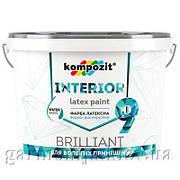 Краска интерьерная INTERIOR 9 Kompozit, 2.7 л
