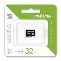Карта памяти 32GB Smartbuy micro SDHC class 10 без адаптера