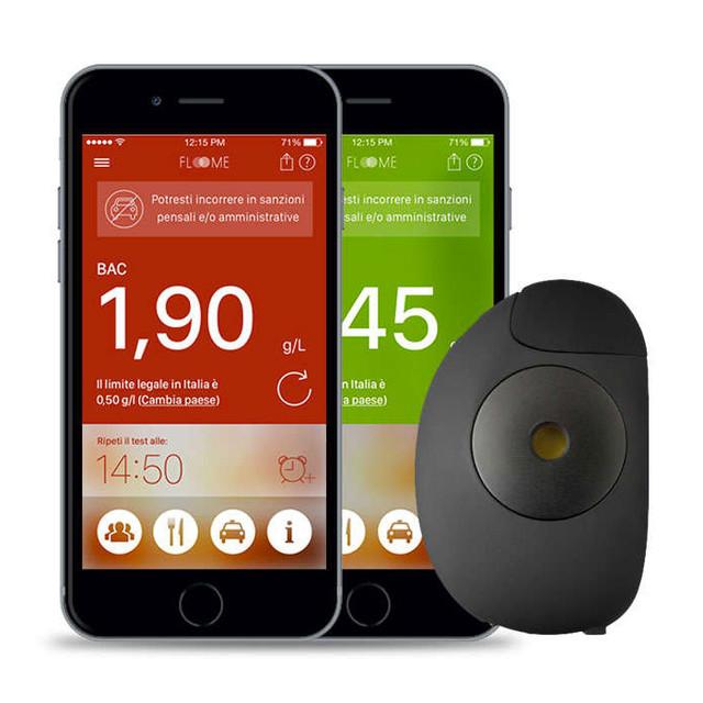 Смарт-алкотестер Floome Smartphone breathalyzer