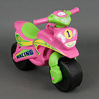 """Байк-толокар беговел """"Racing"""" Розовый"""