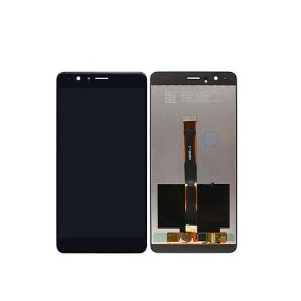 Дисплей (экран) для Honor V8 с сенсором (тачскрином) черный Оригинал, фото 2