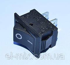 Выключатель KCD1-101 (MRS-101) черный 1-группа ON-OFF Daier
