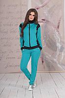 Легкий женский спортивный костюм на молнии дайвинг