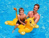 """Дитяча надувна іграшка для плавання """"Король Лев"""" / Пліт для плавання / Надувна іграшка для басейну, фото 1"""