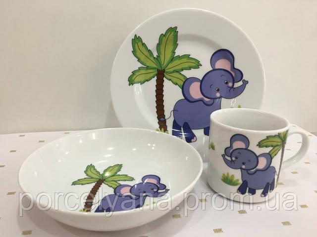 детские наборы посуды