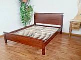 """Кровать двуспальная """"Падини"""". Массив - сосна, ольха, береза, дуб."""