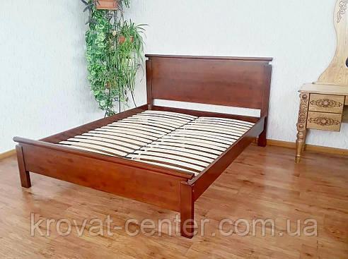 """Кровать двуспальная """"Падини"""". Массив - сосна, ольха, береза, дуб., фото 2"""