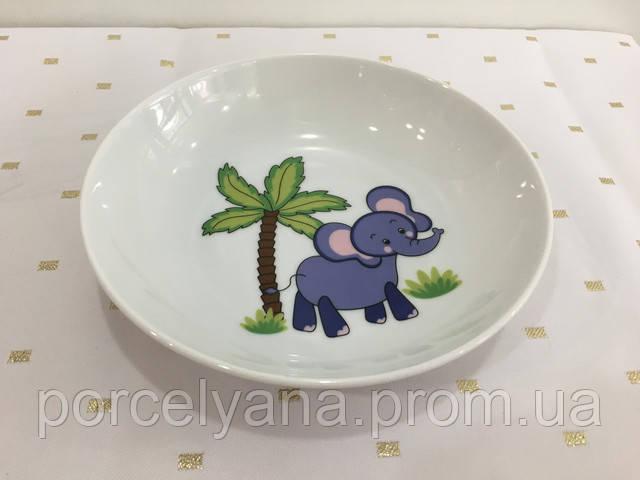 Суповые детские тарелки