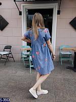 Платье S-3563 (42-46) — купить Платья оптом и в розницу в одессе 7км