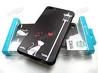 Полимерный TPU чехол Cocose Xiaomi Redmi 5A (love cat), фото 1
