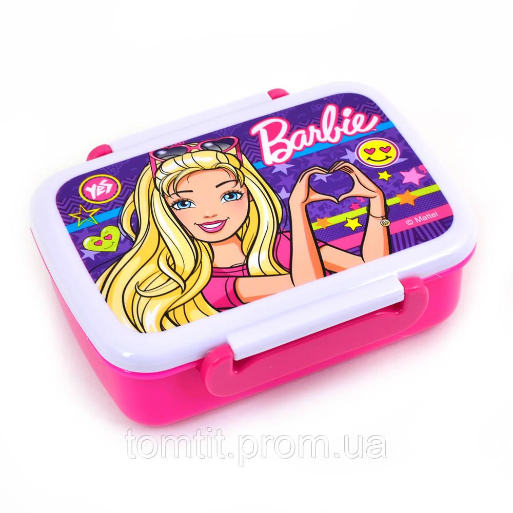 """Ланч бокс для еды """"Barbie - Барби"""" с разделителем, ТМ YES"""